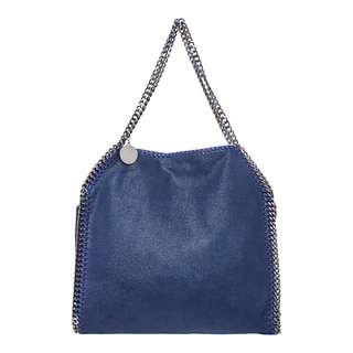 Stella McCartney 'Falabella Shaggy Deer' Small Royal Blue Tote
