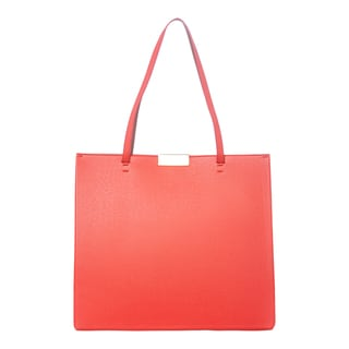 Stella McCartney 'Beckett' Small Poppy Red Structured Tote