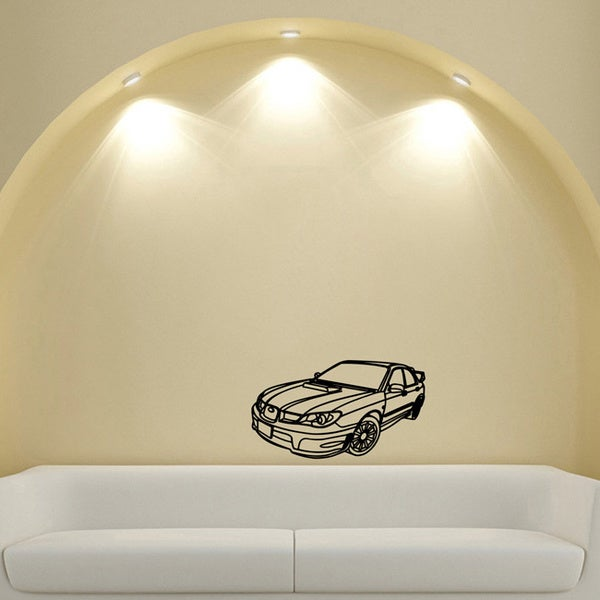 Subaru Drift Tuning Fashion Vinyl Wall Decal