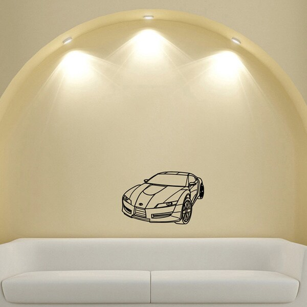 Machine Toyota Sports Vinyl Wall Decal Art