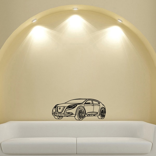 Machine Suzuki Sport Vinyl Wall Decal Art