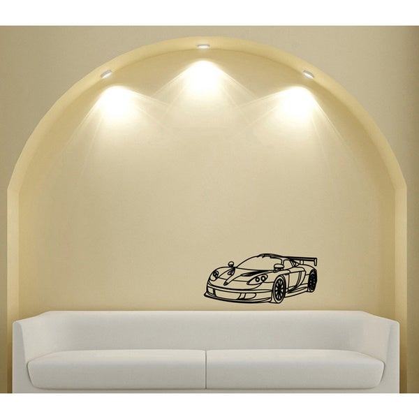 Machine Sports Racing Tuning Vinyl Wall Decal Art