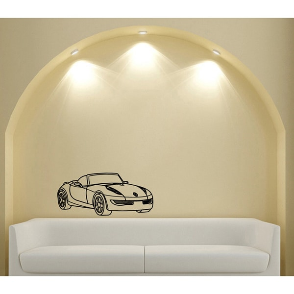 Renault Prototype Car Vinyl Wall Decal Sticker