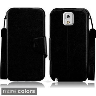 BasAcc Wallet Case for Samsung Galaxy Note 3/ N9000