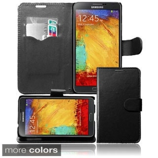 BasAcc Wallet Case with Card Slot for Samsung Galaxy Note 3/ N9000
