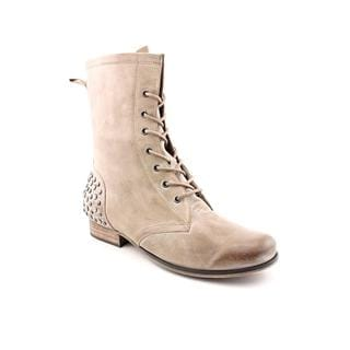 Betsey Johnson Women's 'Kinderr' Distressed Leather Boots