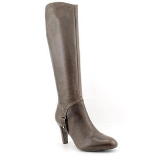Etienne Aigner Women's 'Becca' Leather Boots (Size 10 )