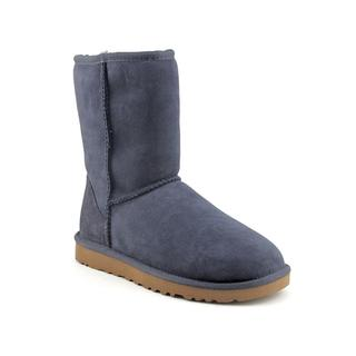 Ugg Australia Women's 'Classic Short' Regular Suede Boots (Size 8 )