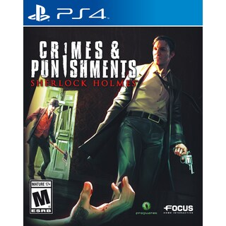 PS4 - Crimes and Punishments: Sherlock Holmes