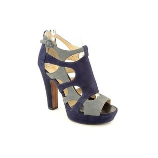 Enzo Angiolini Women's 'Montie' Regular Suede Sandals