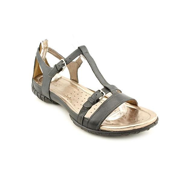 Ecco Women's 'Groove Sandal' Leather Sandals (Size 7 )