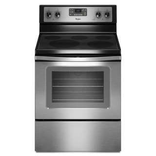 Whirlpool 30-inch Stainless Steel Freestanding Electric Range