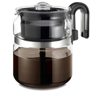 Medelco 8-cup Glass Stovetop Percolator