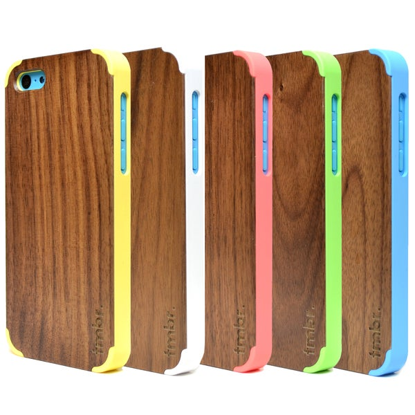 TMBR Walnut Wood Apple iPhone 5C Case