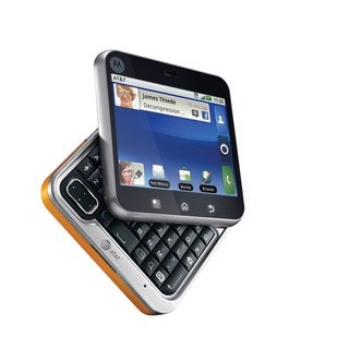 Motorola Flipout MB511 Unlocked GSM Saffron Orange Android Cell Phone