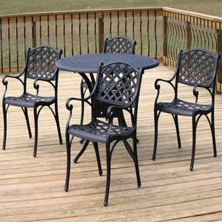 Nassau 5-piece Cast Aluminum Dining Set