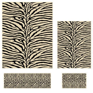 Transitional Elegance 5162 Beige Area Rugs (Set of 4)