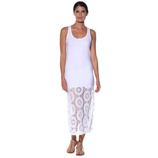 Anatomie Women's 'Fatime' White Long Tank Dress