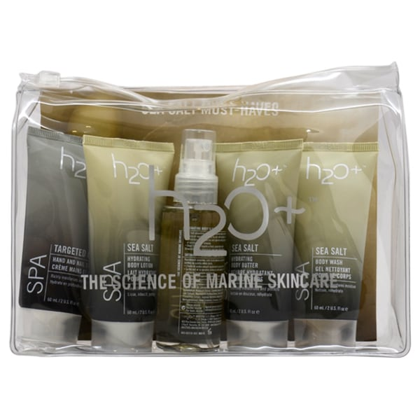 H2O+ Spa Sea Salt Must Haves 5-piece Kit