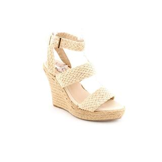 NYLA Women's 'Darwin' Basic Textile Sandals (Size 6.5 )