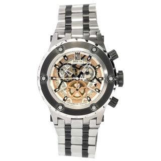 Invicta Men's 12958 'Jason Taylor' Stainless Steel Skeleton Watch