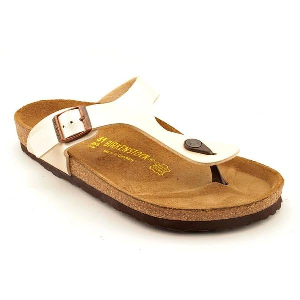 Birkenstock Women's 'Gizeh' Patent Leather Sandals (Size 10 )
