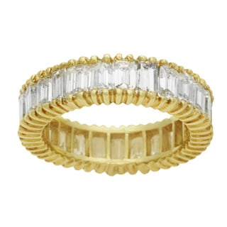 Pre-owned 18k Yellow Gold 3 1/3ct TDW Diamond Eternity Estate Ring (G-H, VS1-VS2)