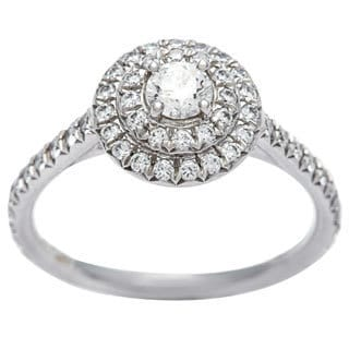 Tiffany & Co. Platinum 1/2ct TDW Estate Ring (G-H, VS1-VS2)