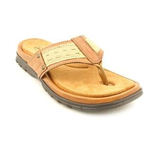 Dr. Scholl's Men's 'Cameran' Leather Sandals