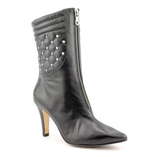 Ros Hommerson Women's 'Trixie' Leather Boots - Extra Wide (Size 10 )