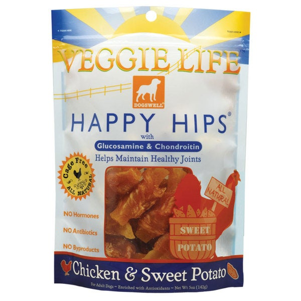 Dogswell Happy Hips Veggie Life Chicken/ Sweet Potato Dog Treat Chew (2 Pack)
