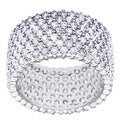 Simon Frank Rhodium Ulitimate CZ Eternity Band