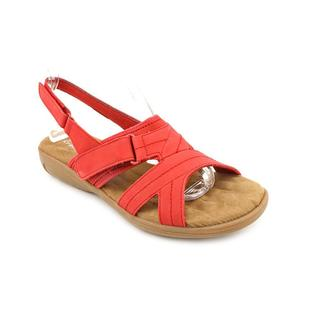 Walking Cradles Women's 'Ciao' Nubuck Sandals - Wide (Size 6 )
