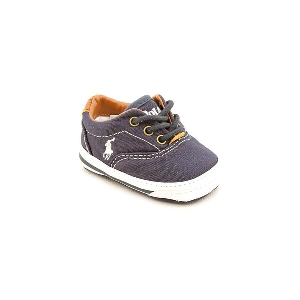 Ralph Lauren Layette Boy (Infant) 'Vaughn' Canvas Casual Shoes