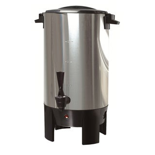 CE Stainless Steel 30-cup Coffee Urn