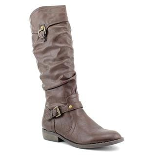 White Mountain Women's 'Legend' Faux Leather Boots (Size 9 )