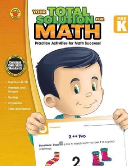Your Total Solution for Math, PreK (Paperback)
