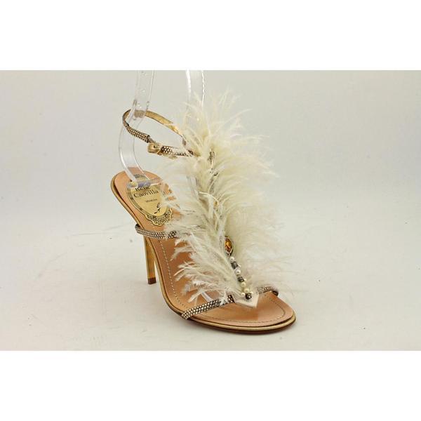 Rene Caovilla Women's 'Tessuto' Leather Dress Shoes (Size 5.5)