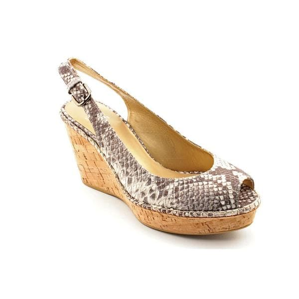 Stuart Weitzman Women's 'Jean' Animal Print Dress Shoes (Size 8.5)