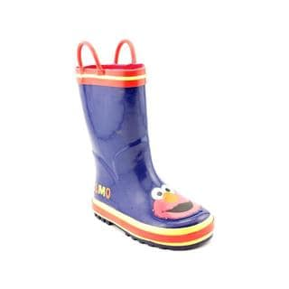 Sesame Street Boy (Toddler) 'Elmo' Rubber Boots (Size 9 )