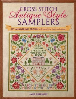 Cross Stitch Antique Style Samplers: With Brand New Charts and Designs (Paperback)
