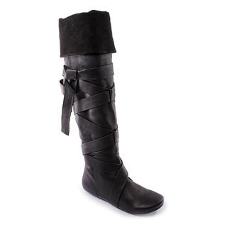 D-Segno Women's 'Strappy' Leather Boots