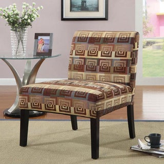 Square Plush Oversized Accent Chair