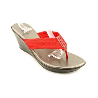 White Mountain Women's 'Ray' Basic Textile Sandals (Size 5 )
