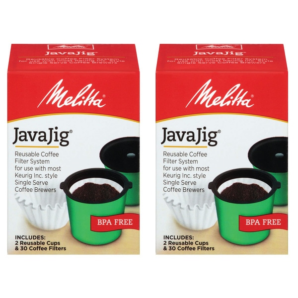 Melitta Java Jig Reusable K-Cups (Set of 2) 12372512