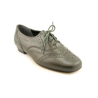 Mark Lemp By Walking Cradles Women's 'Jake' Leather Dress Shoes - Wide (Size 9 )
