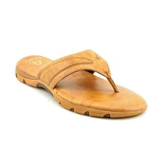 Auri Men's 'Balboa Beach' Leather Sandals (Size 8 )