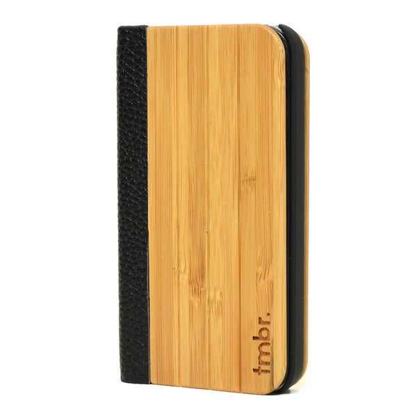 TMBR Bamboo Folio-style Apple iPhone 4/4S Case
