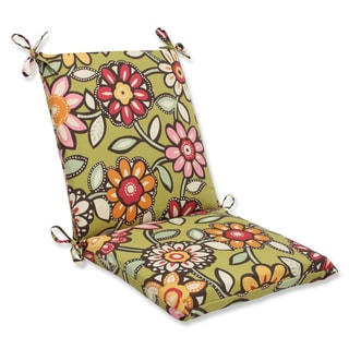 Pillow Perfect Outdoor Wilder Kiwi Squared Corners Chair Cushion