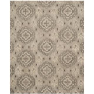 Safavieh Handmade Wyndham Silver Wool Rug (8' x 10')